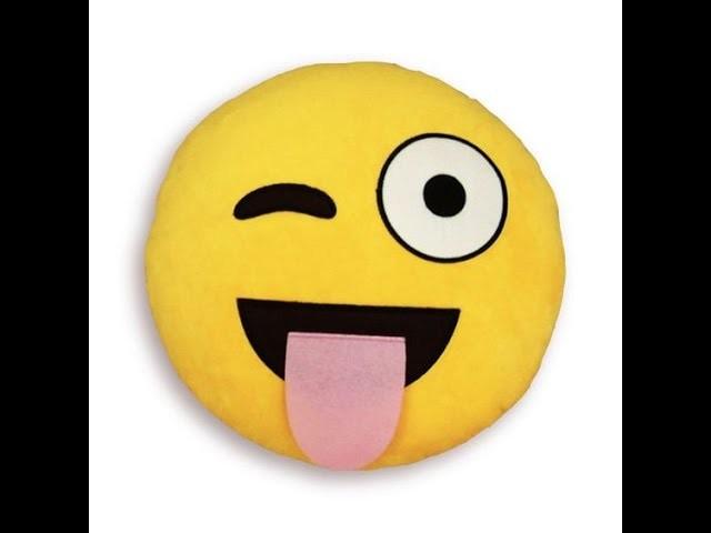 -D.I.Y - coussin emoji