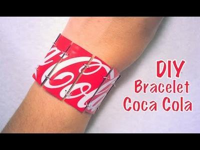 DIY Recyclage Bracelet avec Canette de Coca