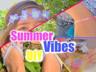 SUMMER VIBES. DIY ☀️