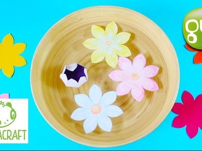 Tuto DIY : Les fleurs magiques | Les Daily Craft de Pandacraft sur Gulli