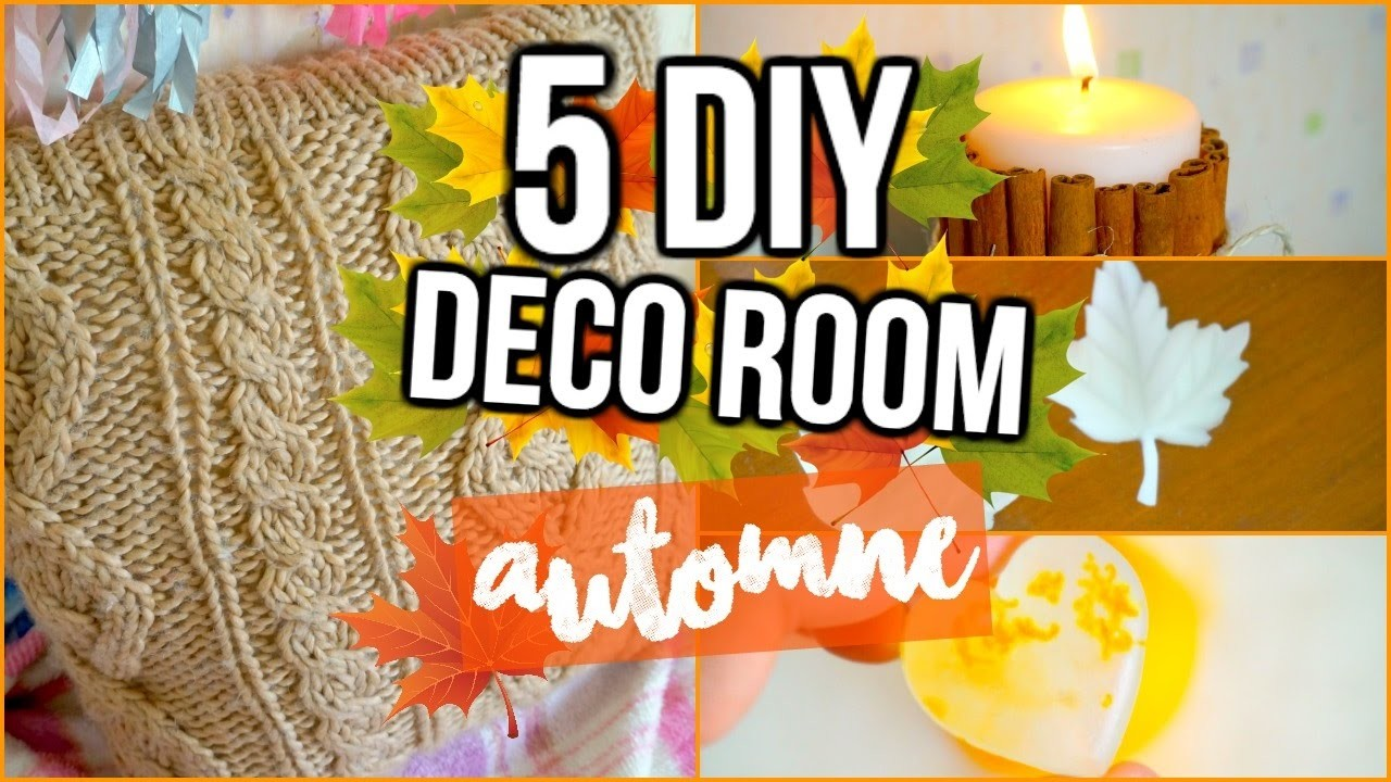 5 Diy Speciale Automne I Diy Fall Room Decor