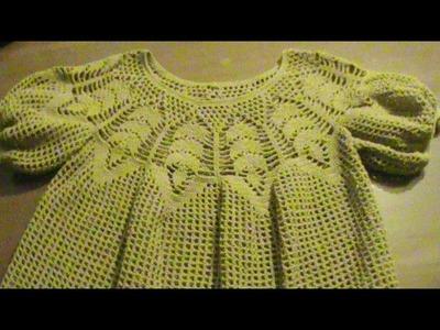 Blusa talla 34-36. Crochet.  Parte 2.
