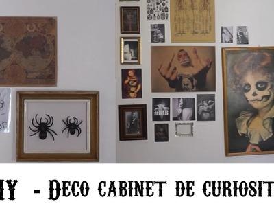 DIY  - Déco cabinet de curiosité
