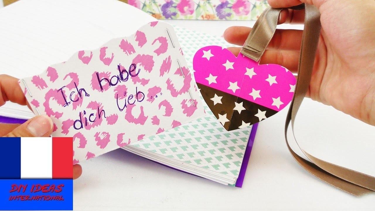 diy id e cadeau pour sa meilleure amie marque page carte cadeau rangement pour filofax. Black Bedroom Furniture Sets. Home Design Ideas