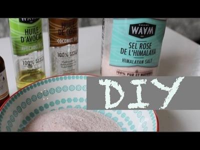 DIY : Recette Gommage au sel rose pour le corps