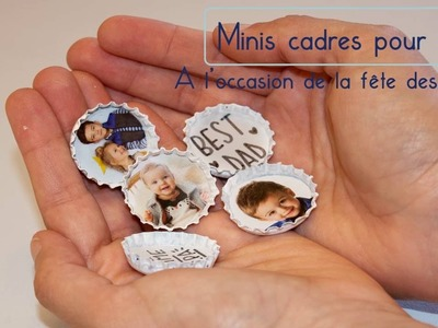 "Kids Corner - DIY ""Minis cadres pour Papa"" by Oh Happy Day"