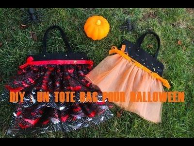 {DIY} Comment réaliser un Tote Bag pour Halloween (pour le Trick or Treat)