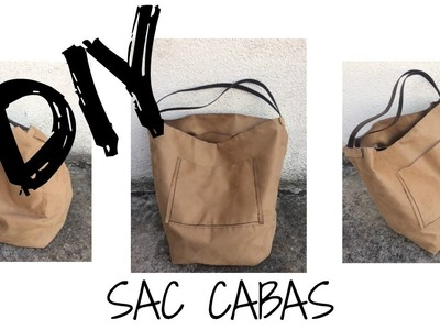 DIY FACILE sac cabas