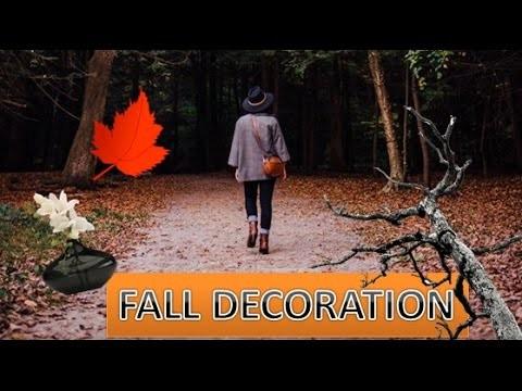 ❁ Fall DIY ❁ : Décoration Inspiration Nature et Automne افكار ديكور لفصل الخريف