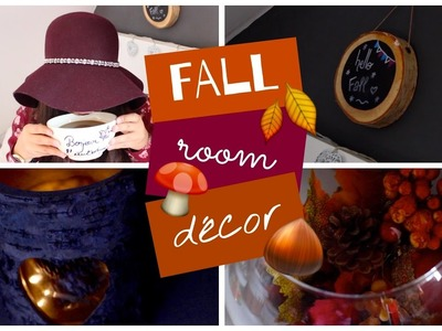 Fall room decor ♡ DIY déco d'automne