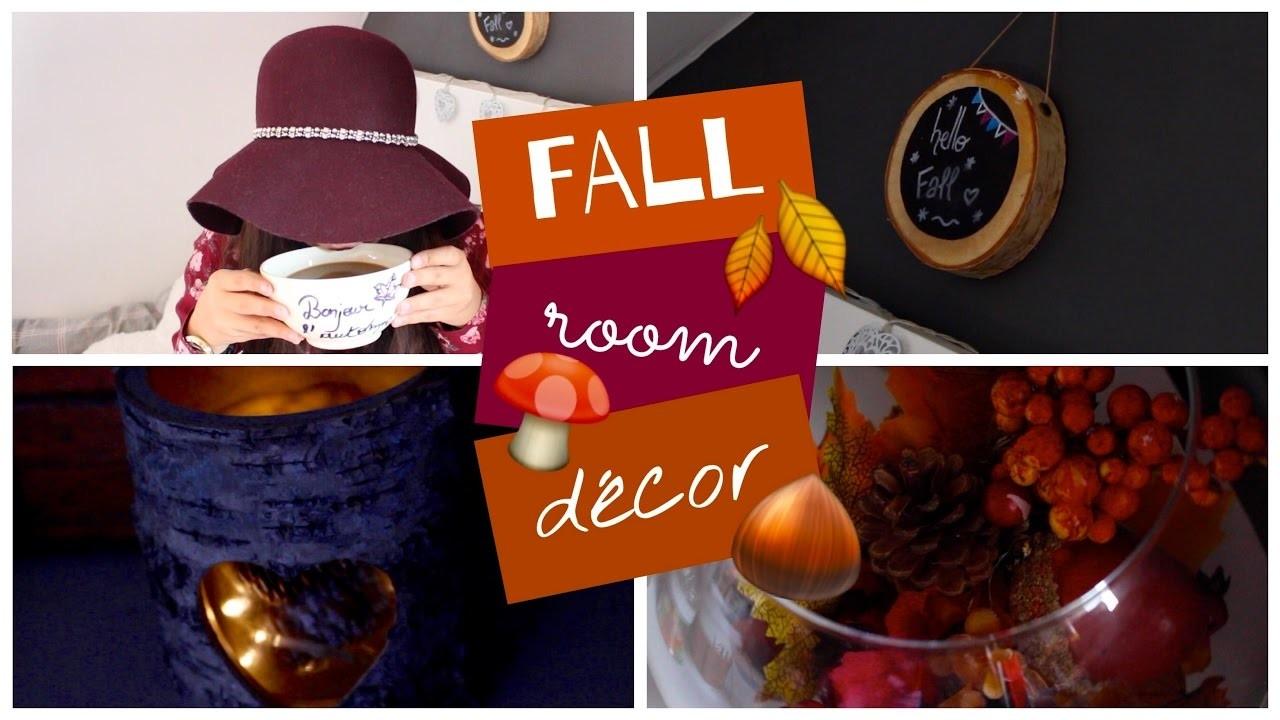 Fall room decor ♡ DIY déco d'automne