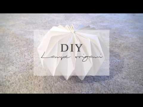 Pierre Papier Ciseaux | DIY lampe origami