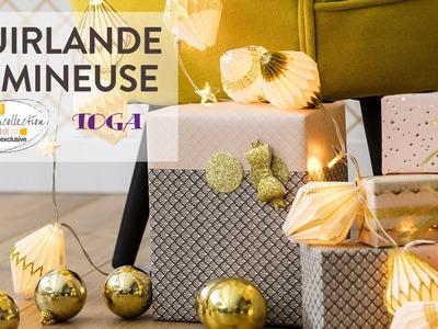 Tuto DIY : Guirlande de Noël lumineuse - Noël Chic