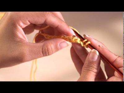 Crochet Facile - 07 Maille serrée dans le brin avant