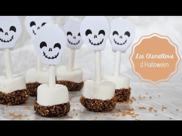 DIY Cuisine Halloween ♡ Les Chamallows d'Halloween