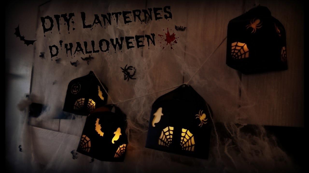 DIY:  lanternes d'halloween