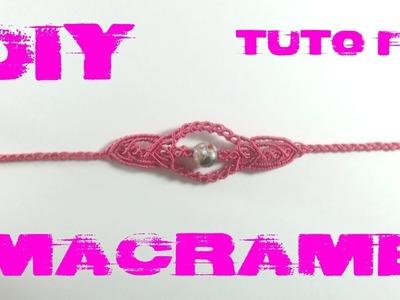 DIY - Tuto Bracelet Bohème en Macramé
