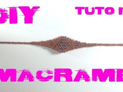 DIY - Tuto Bracelet Ethnique en Macramé
