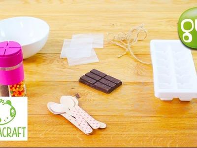 Tuto DIY : Les cuillères à chocolats chaud | Les Daily Craft de Pandacraft sur Gulli