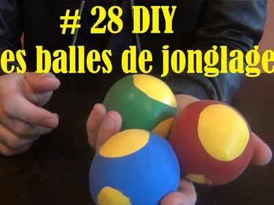 DIY - Bricolage à faire à la maison #29 (les balles de jonglage)