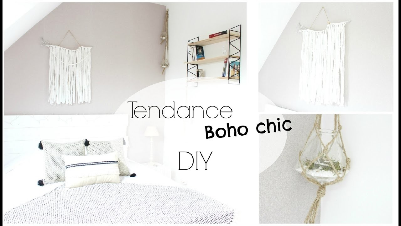 diy d co tendance boho chic d coration murale. Black Bedroom Furniture Sets. Home Design Ideas