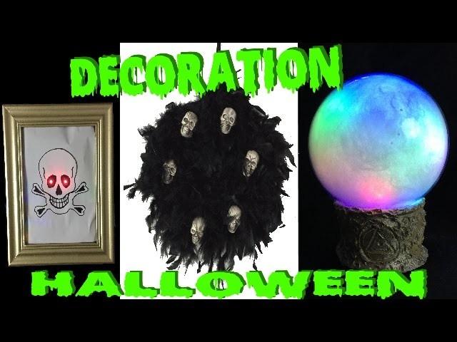DIY décorations halloween