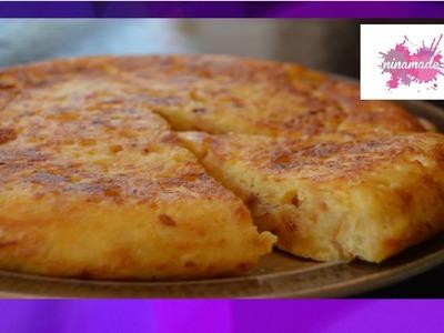 "DIY. L'omelette espagnole ou ""Tortilla"" de Nina. Spanish omelette by Nina."