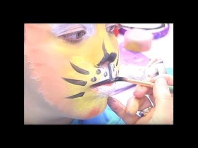 DIY maquillage enfant : Le tigre - Jardinerie Truffaut TV