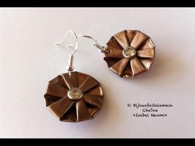 DIY Nespresso: Comment-faire des boucles d'oreilles pliées