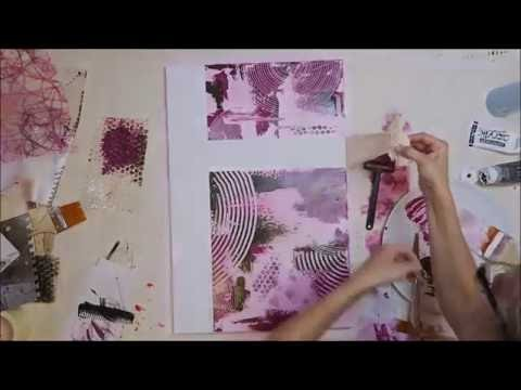 BecomeTheArtist.com - DIY Peinture acrylique [3.3]: 3 toiles Fantaisie - 3