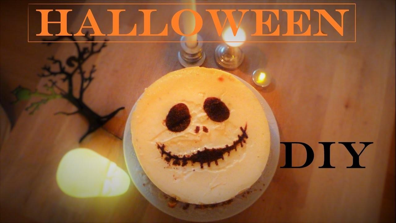 DIY décoration CheeseCake Halloween 2016