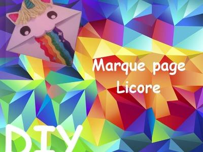 DIY Marque page Licorne