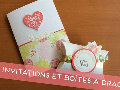 [ Tuto DIY ] Invitations de mariage et boîtes à dragées