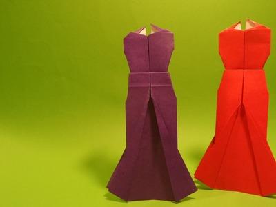 파티 드레스 색종이 접기 - Origami Confetti Party dresses
