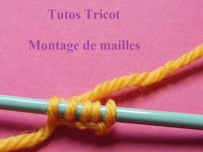 Montage de mailles tricot sur aiguille | Apprendre à tricoter | Knitting Tutorial | Aprender a tejer