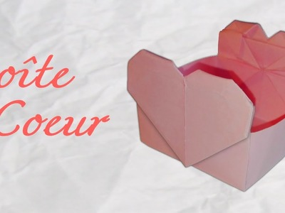 Origami ! Boite coeur en papier [HD]