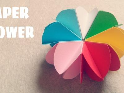 Origami facile - Fleur en papier facile