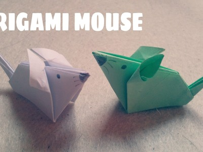 Origami facile - Souris