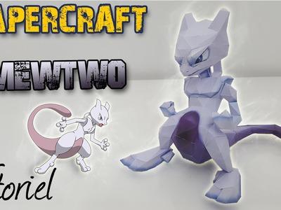 Papercraft - Mewtwo ! Construis un Pokémon en 3D !