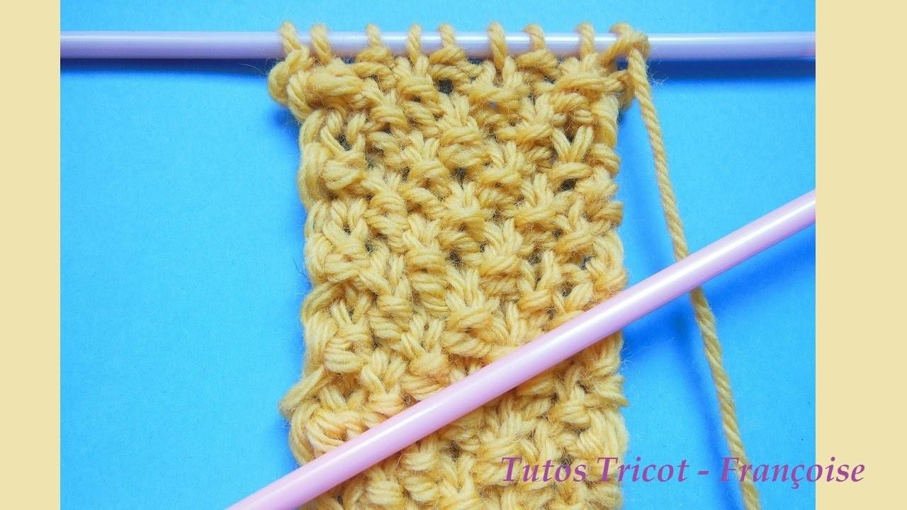 Tuto tricot point de bl apprendre tricoter le point de bl tricot pour d butant - Apprendre a tricoter gratuitement ...