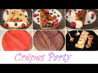 [DIY Gourmand n°2] DIY Snacks Crêpes Party