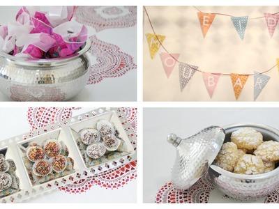 Préparons l'Aid El Fitr ensemble : decoration, cadeaux, gâteau .
