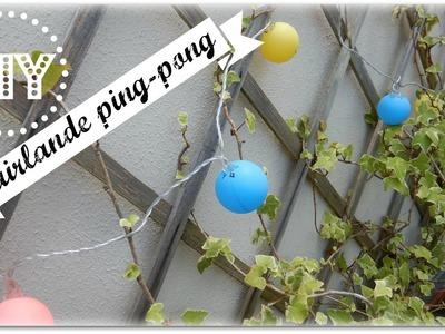 DIY : Idée sympa pour une garden party!!! ( guirlande)