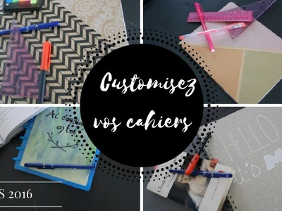 DIY supplies decor: Customise tes cahiers !I BTS2016 I Romadeart