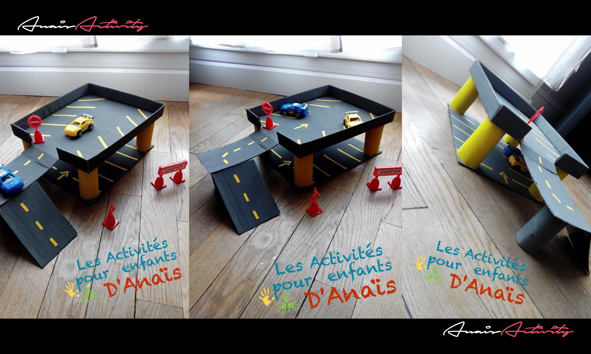 activit manuelle enfants garage voitures anaisactivity. Black Bedroom Furniture Sets. Home Design Ideas