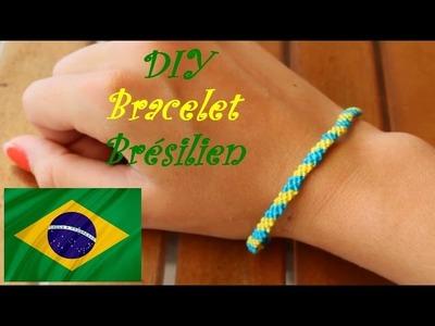 DIY bracelet brésilien