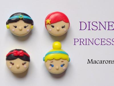 [Stop Motion] Disney Princesses Macarons. Tutoriel Fimo