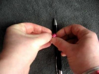 Accrocher un bijou de téléphone avec strap