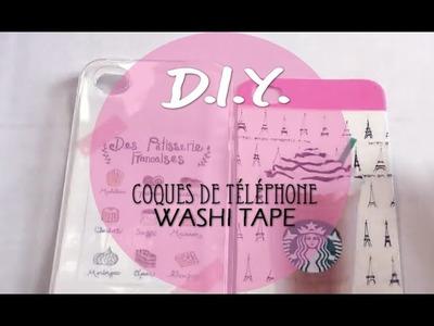 [TUTO #10] Les coques de téléphone au Washi Tape par Little Ferrero