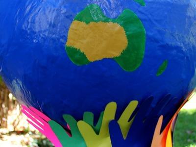 Fabriquer un globe terrestre pour le Jour de la Terre